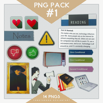 PNG PACK#1 - By Yang by Yangyanggg