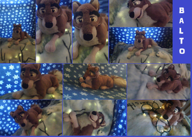 my new balto plushie ( NOT FOR SALE) by AgentWhiteHawk