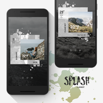 Splash for KWGT by marcco23