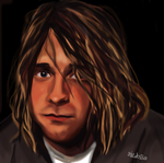 Kurt Cobain by fullcolour-canvas