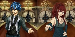 Jerza Collab - Shall we dance? by Chengggg