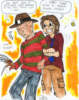 Montreal Comiccon 2014: Robert Englund by BD-Ghis
