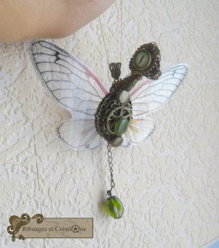 Dragon steampunk fairy 1 by Rouages-et-Creations