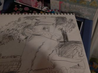 My Draw 2  the  draw is for japan lighe hous by flickahorses