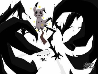 Mimikyu for ARMS DLC  by LatikSoulRichie