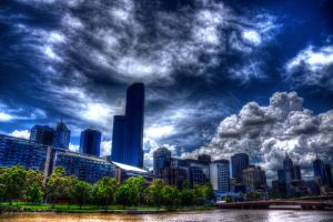 Melbourne in HDR by Grayda