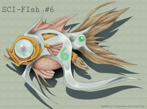 SCI-FIsh by LadyUndead