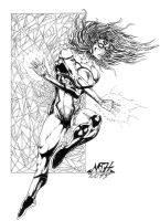SPIDERWOMAN by Mich974