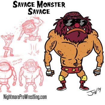 Savage Monster Savage by JonDavidGuerra
