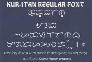 Kur-itan Regular Font by renpaga