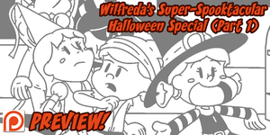 Wilfreda's Super-Spooktacular Halloween Special by megawackymax
