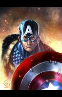 Captain America by Totmoartsstudio2 by Mykemanila