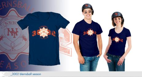 T-Shirt Designs - 3002 New New York Mets by dschuler-creative