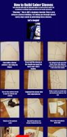 Saber Sleeve Tutorial (Fate Series) by RuffleButtCosplay
