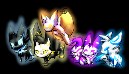 .:Fangs211 Summer Contest Prizes--Customs!:. by FlamesVoices