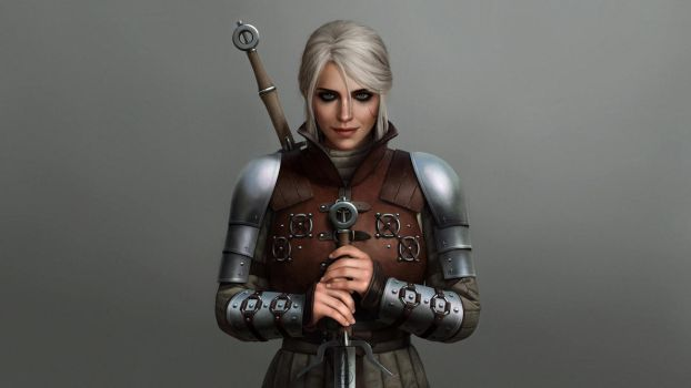 Ciri Ursine Wallpaper 2 by astoralexander