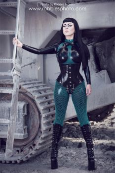 Latex excavation I by FuchsiaG
