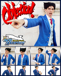 Phoenix Wright Cosplay Reactions by JapoCW