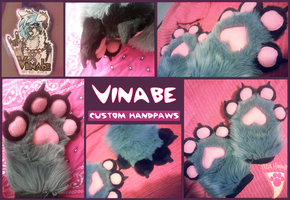 Vinabe - custom handpaws by stayria