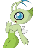 Celebi by DreamEclipseWolf