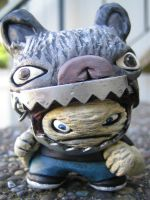 2nd Custom Dunny at DCon2010 by jay222toys