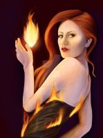 October Fires by CarmaBellaP