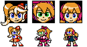 Call E, F, H Retro Sprites by hfbn2