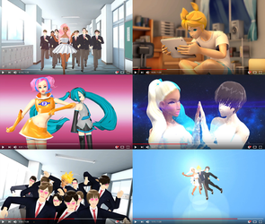 MMD animation!! Good Luck Len complete!!! by chatterHEAD