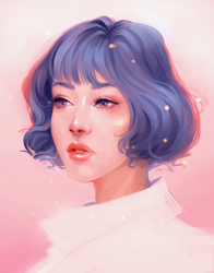 Pastel Girl 2 by szienna