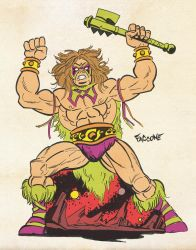 Ultimate Warrior MOTU Mash Up. by ChrisFaccone