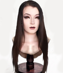 Female Mask on Stand by TheMaskedMoron