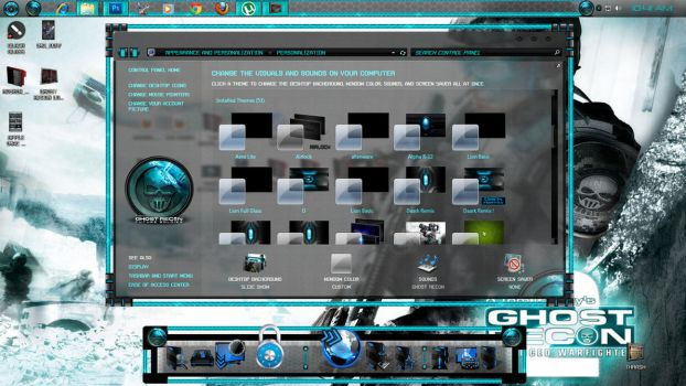 .: Ghost Recon Dock:. by Mr-Blade