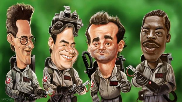 GHOSTBUSTERS by JaumeCullell