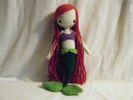 Ariel Crocheted Doll by yourstarrysky