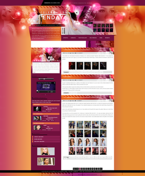 Zendaya Coleman ~ WordPress Theme by BrielleFantasy