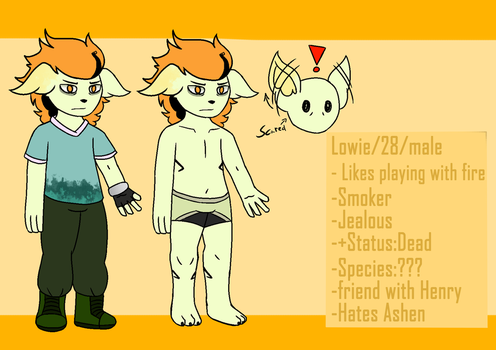 Lowie Reference by SodaNya