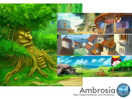 Ambrosia Artworks by jotter