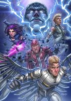 X-Men: Apocalypse - The Four Horsemen by kpetchock
