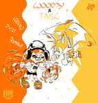 WOOMY and TAILS by SPIRALCRIS