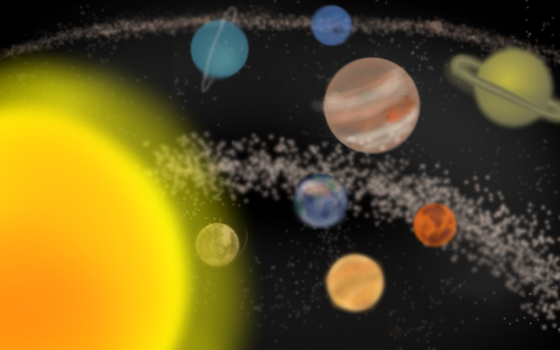 Solar System by Flamme2