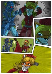 Chronicles of Polaris Comic Page 7 PREVIEW by MikeOrion
