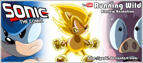 Sonic the Comic the Animation by yuski