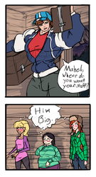 Comic - Dip Ships or Big Dipper by SpottedAlienMonster