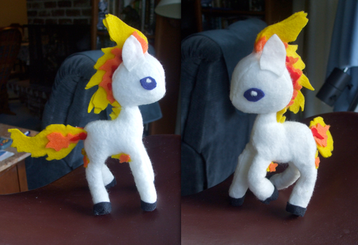 My Little Ponyta by Ferngirl