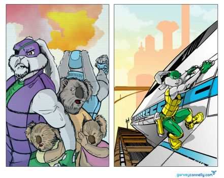 Two Panels ::Colors:: by DonGarvey