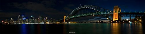 Panorama of Sydney Skyline IV by IAMSORRY87