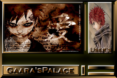 Gaaras Palace Chat Background by MikeDarko
