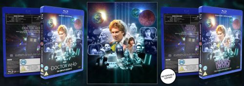 Doctor Who The Complete Season 22 Blu Ray Box Set by GrantBattersby