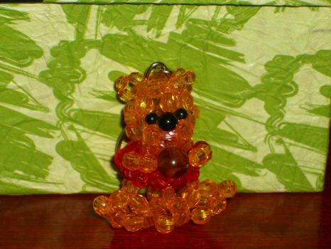Crystal Beads Pooh by Tamiake
