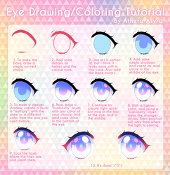 Eye coloring tutorial by AtheraAsyra